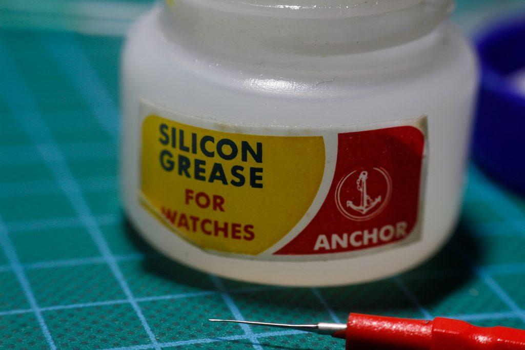 Bote de grasa de silicona