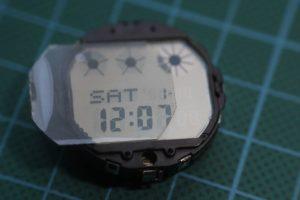 Como invertir la pantalla del reloj