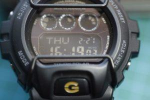 Casio GW-6900: invertir la pantalla