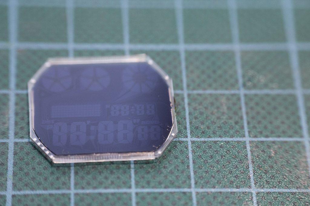 LCD invertido reloj