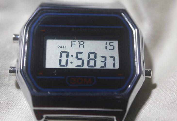 Skmei 1123 con módulo Casio F91w