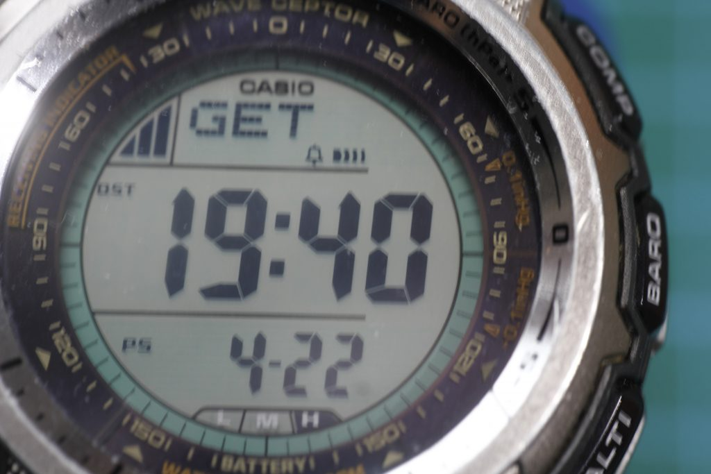 Sincronizando Casio PAW-1300