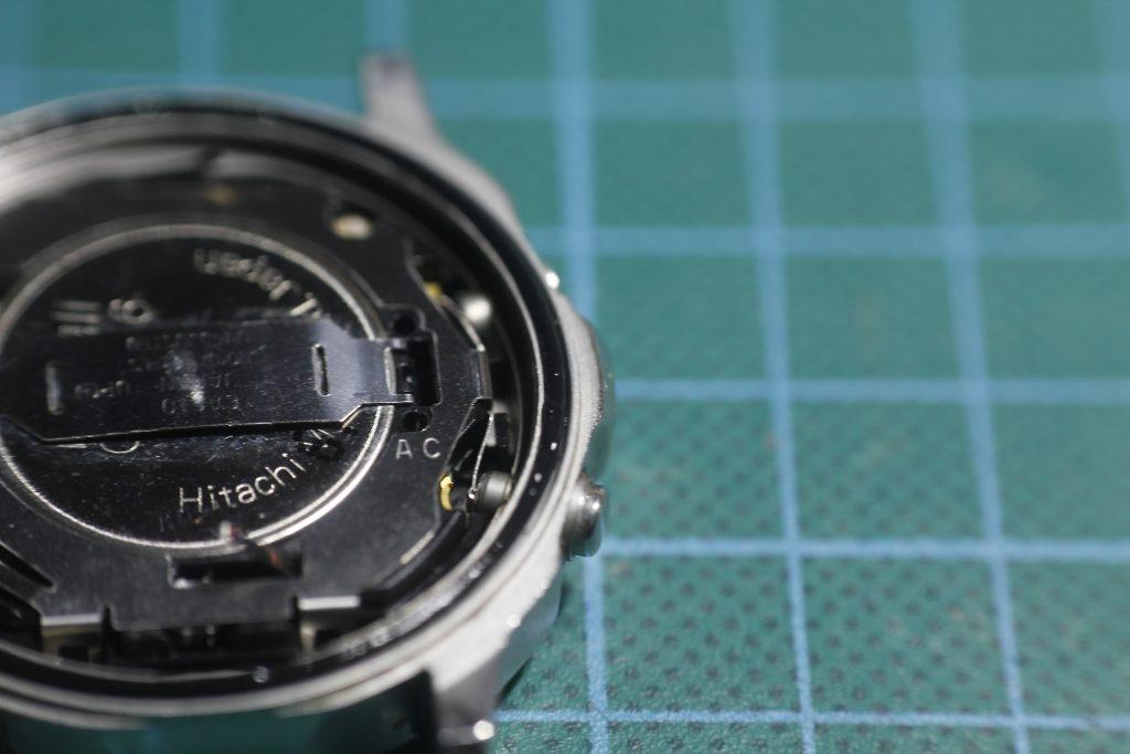 Casio DGW300 - Junta de la tapa trasera engrasada