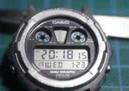 Casio DGW300 - Resultado final