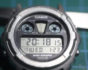 Casio DGW300 - Resultado final