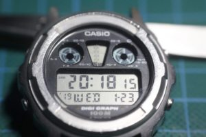 Restaurar Casio DGW300