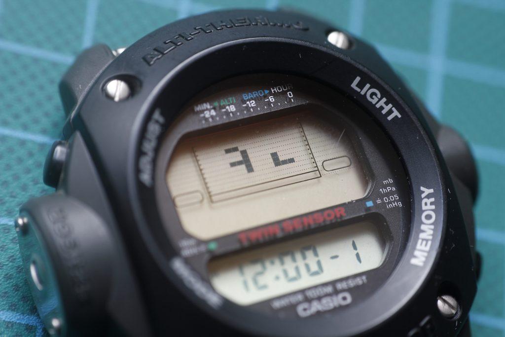 Casio ALT-6200 problema de pantalla