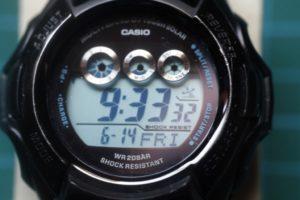 Casio GW-M500BA: cambio del acumulador ctl1616f