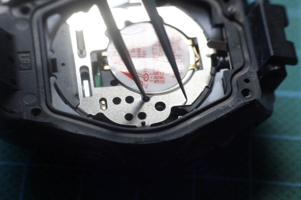 Casio GW-M500 - Reseteo del modulo