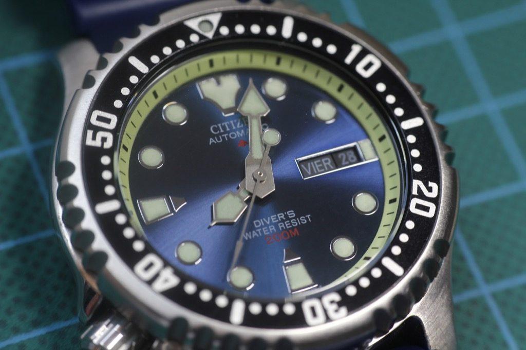 Citizen NY0040 - Detalle del reloj