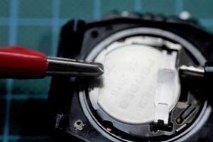 Reparar un reloj sin sonido