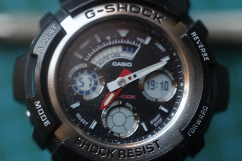 Casio AW-590 - Reloj arreglado