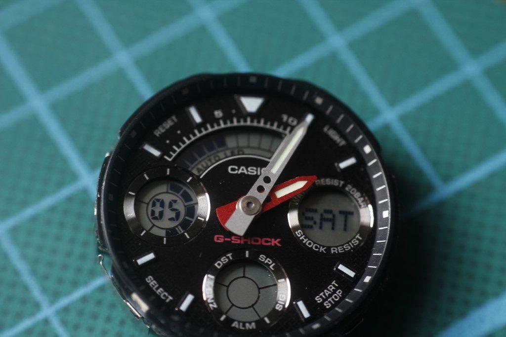 Casio AW-590 - Modulo funcionando