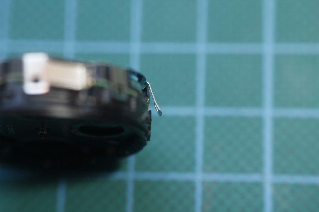 Casio AW-590 - Pestaña doblada