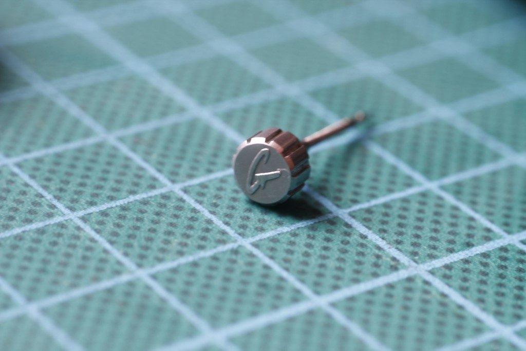 Casio GS-500 Giez - Detalle de la corona