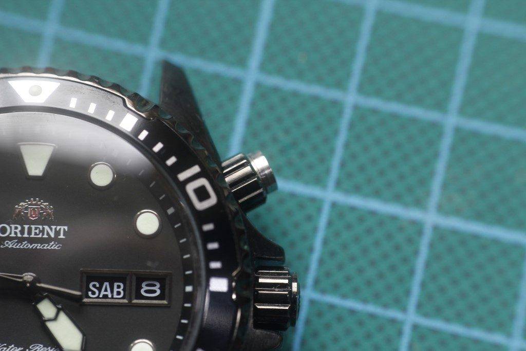 Orient Ray Raven - Botón reparado
