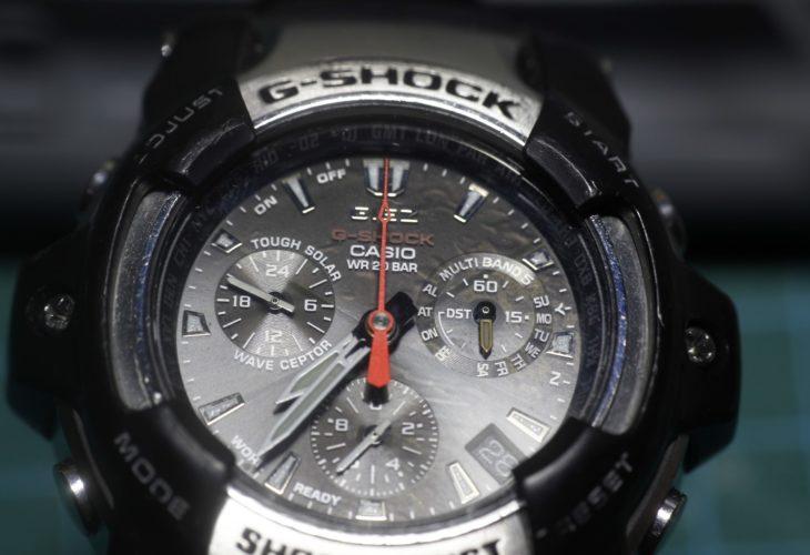 Casio Giez GS-1100 - Detalle del dial