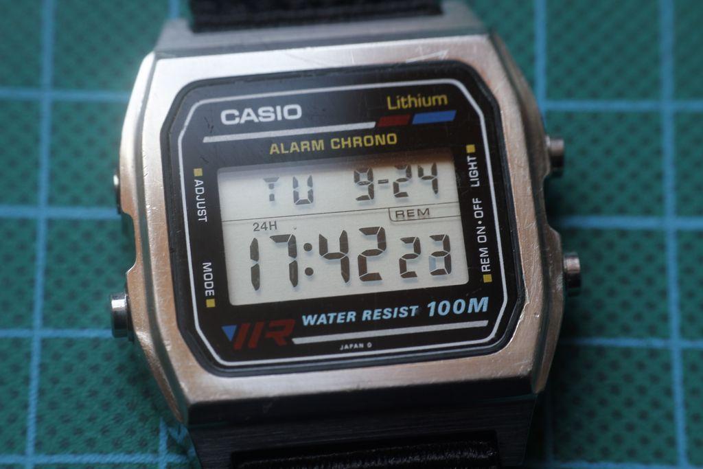 Casio W-780 - Estado inicial del reloj