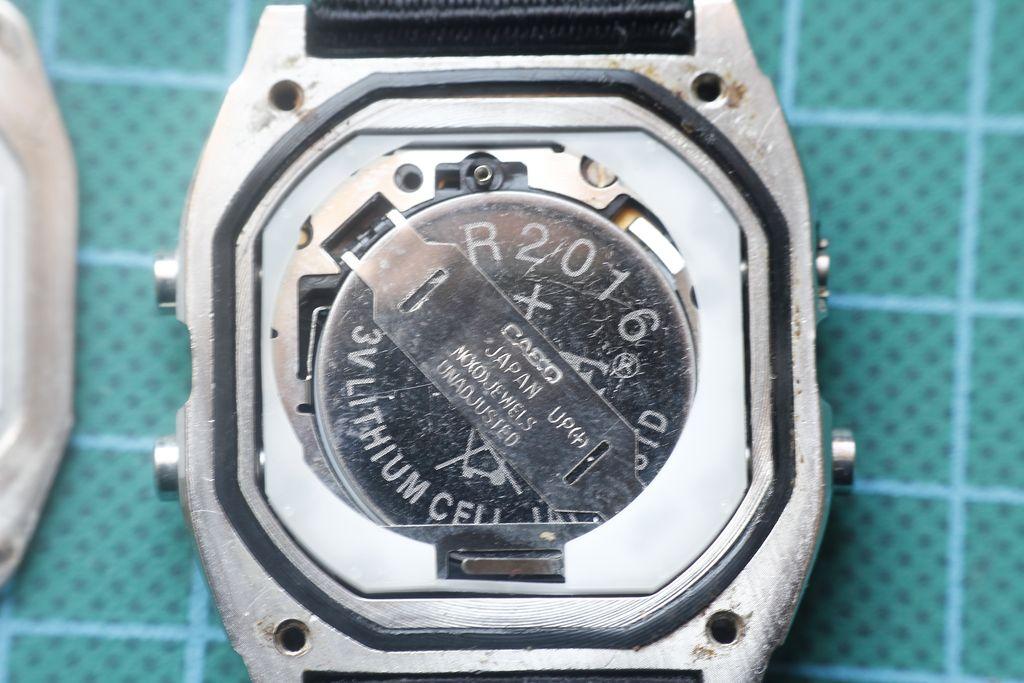 Casio W-780 - Modulo del reloj