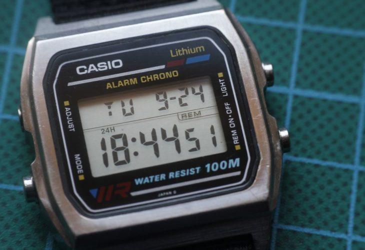 Casio W-780 - Estado final del reloj