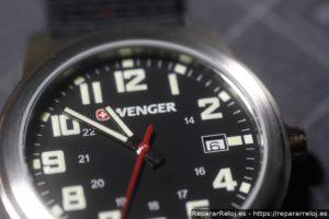 Reloj Wenger: cambio del movimiento Ronda 515