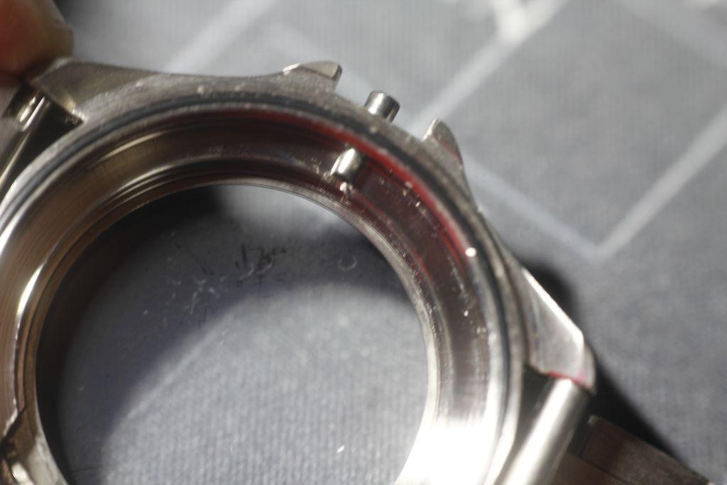 Vostok 34 - 350006 cristal sucio por la parte interna