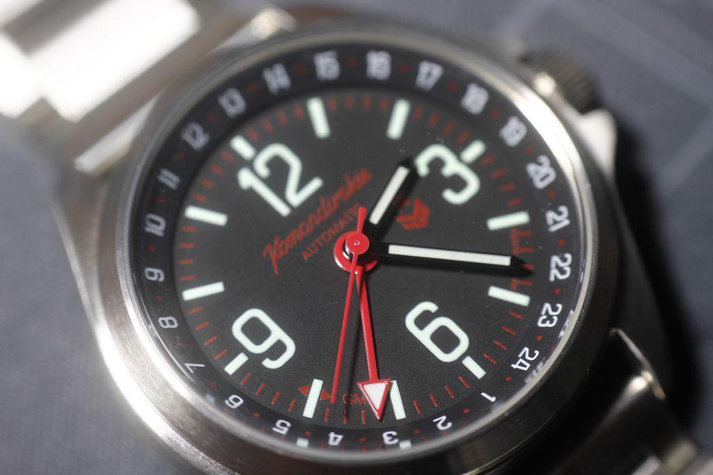Vostok 34 - 350006 con el cristal limpio