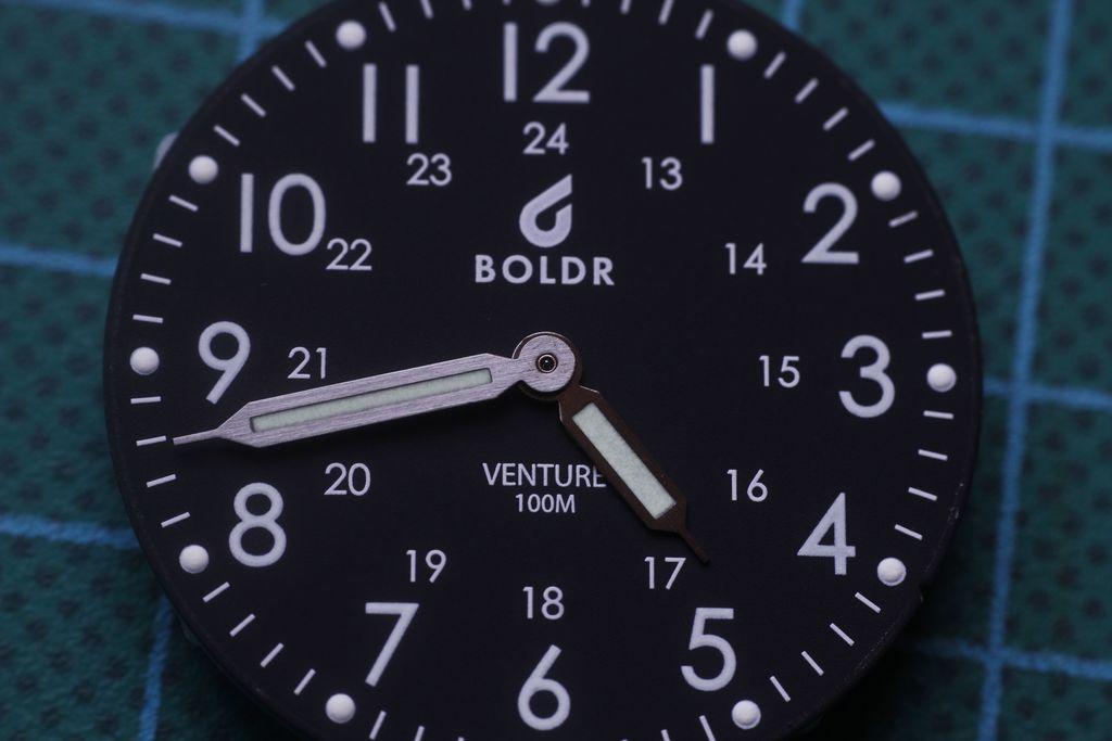 Boldr Venture - Aguja segundera quitada