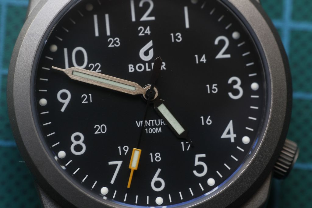 Boldr Venture - Aguja segundera ajustada