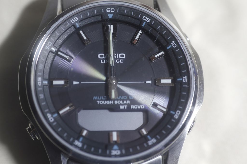 Casio LCW-M100DSE: initial condition