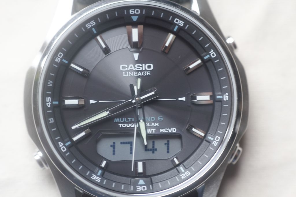Casio LCW-M100DSE: working normally