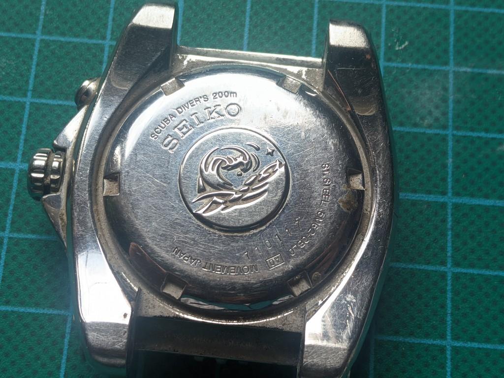 Seiko SKA371 - Detalle de la trasera