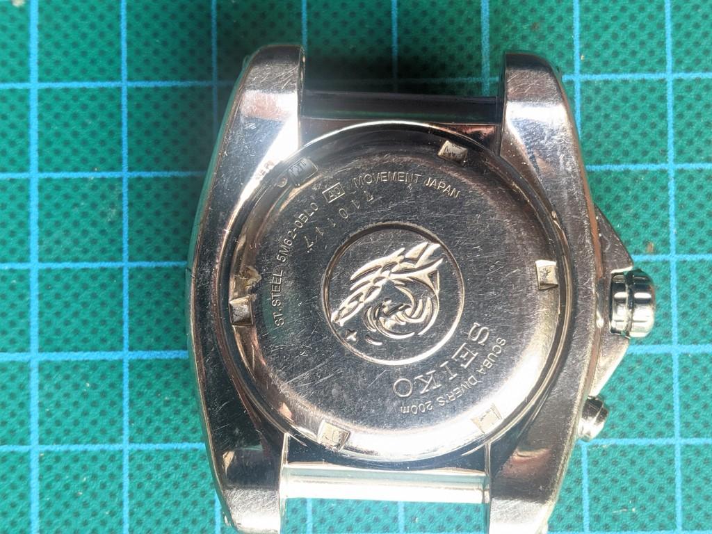 Seiko SKA371 - Reloj cerrado